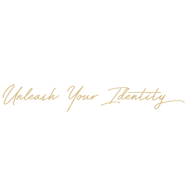 unleash your identity logo gold